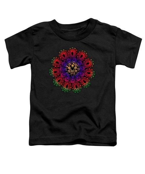 Mandala By Lamplight Toddler T-Shirt