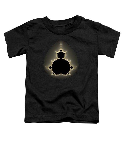 Mandelbrot Set Square Format Art Toddler T-Shirt
