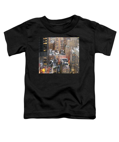 Manhattan At Dusk Toddler T-Shirt