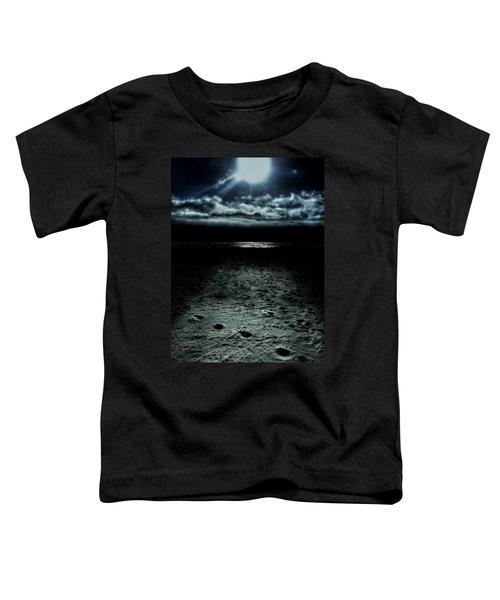 Manhattan Beach Dark Toddler T-Shirt