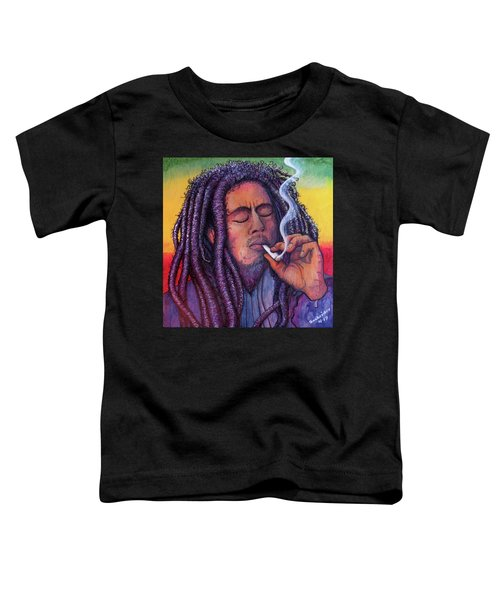 Marley Smoking Toddler T-Shirt