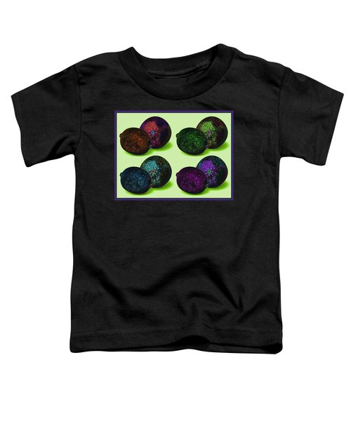 Toddler T-Shirt featuring the digital art Mars Fruit  by Joy McKenzie