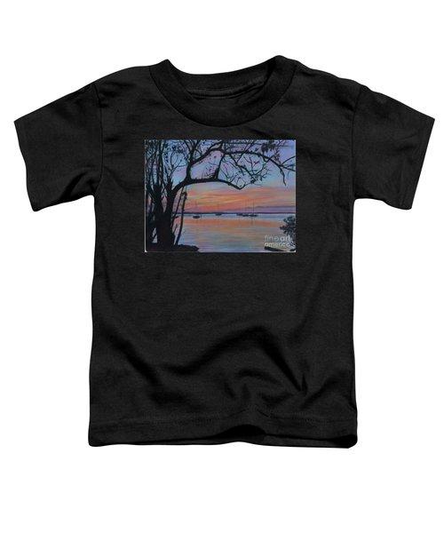 Marsh Harbour At Sunset Toddler T-Shirt