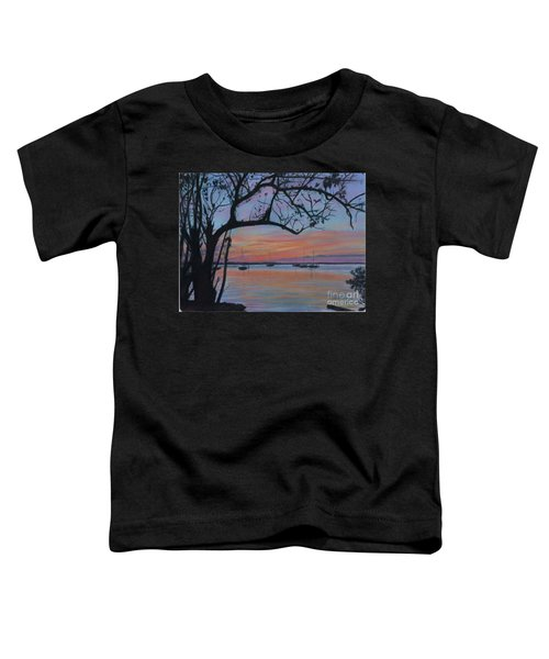 Marsh Harbour At Sunset Toddler T-Shirt