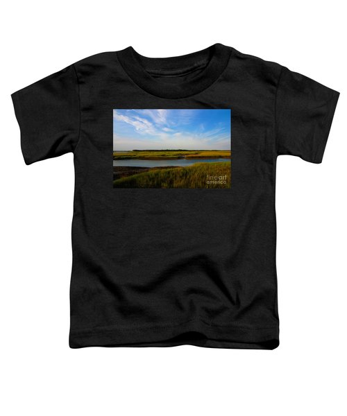Marshland Charleston South Carolina Toddler T-Shirt