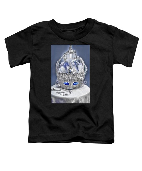 Mask Still Life Blue Toddler T-Shirt