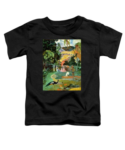 Matamoe Or Landscape With Peacocks Toddler T-Shirt