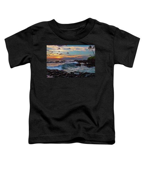 Maui Sunset At Secret Beach Toddler T-Shirt