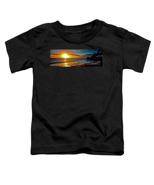 Maui Wedding Beach Sunset  Toddler T-Shirt