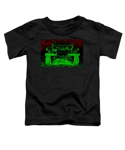 Mean Green Machine Toddler T-Shirt