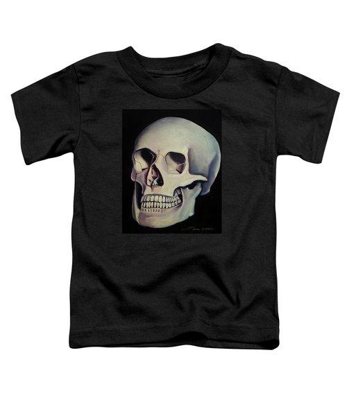 Medical Skull  Toddler T-Shirt
