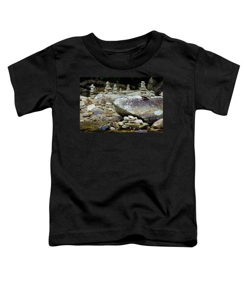 Memorial Stacked Stones Toddler T-Shirt