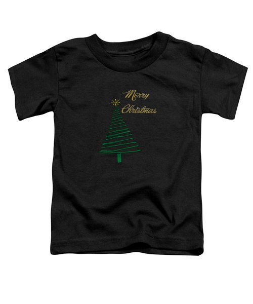 Merry Christmas Tree Toddler T-Shirt