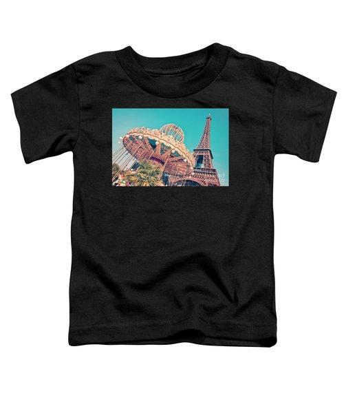 Merry Go Paris Toddler T-Shirt