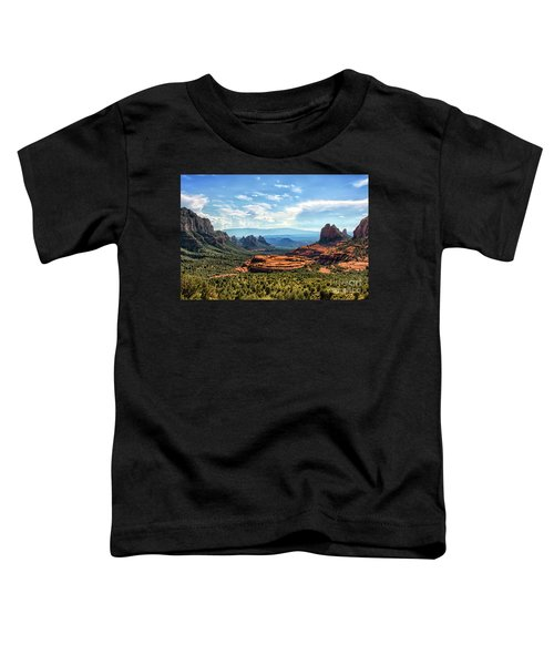 Merry Go Round Arch, Sedona, Arizona Toddler T-Shirt