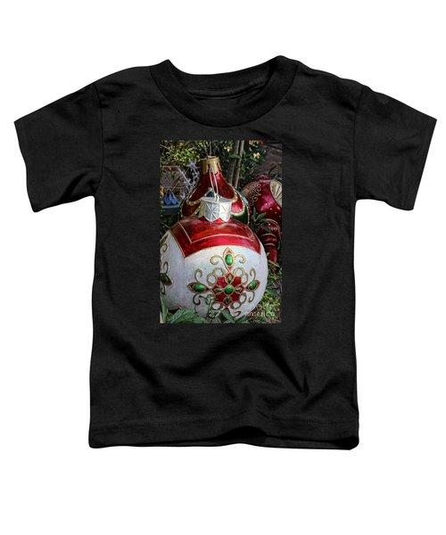 Merry Joyful Christmas Toddler T-Shirt