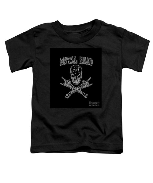 Metal Head Toddler T-Shirt
