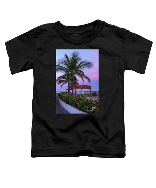 Mexican Moonrise Mexican Art By Kaylyn Franks Toddler T-Shirt