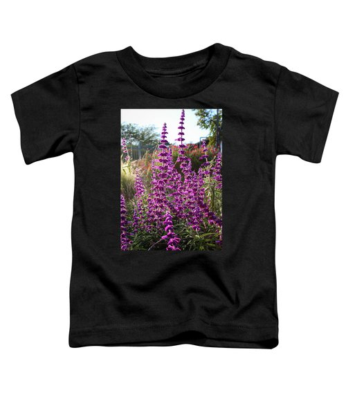 Toddler T-Shirt featuring the photograph Mexican Sage by Alison Frank