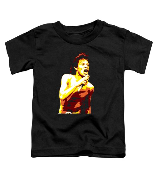 Mick Jagger Toddler T-Shirt