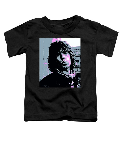 Mick Jagger In London Toddler T-Shirt