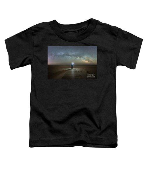 Midnight Explorer At Assateague Island Toddler T-Shirt