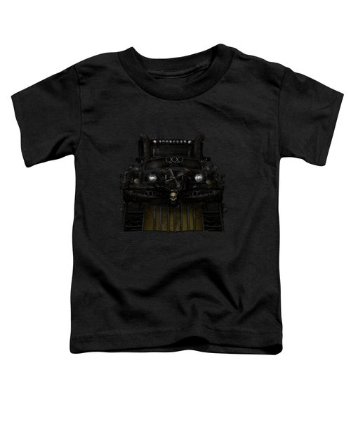 Midnight Run Toddler T-Shirt by Shanina Conway