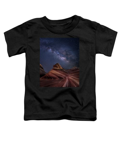 Milky Way And The Wave Toddler T-Shirt