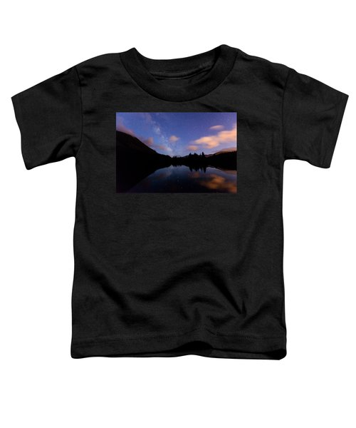 Milky Way At Snoqualmie Pass Toddler T-Shirt