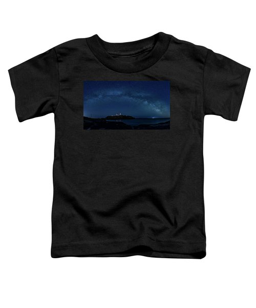 Milky Way Over Nubble Toddler T-Shirt