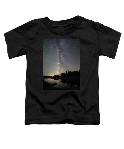 Milky Way Over Schwabacher's Landing Toddler T-Shirt