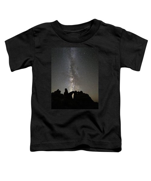 Milky Way Over Turret Arch Toddler T-Shirt