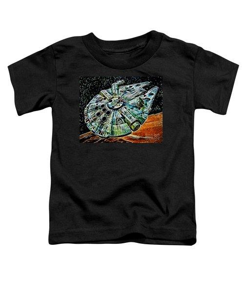 Millenium Falcon Toddler T-Shirt