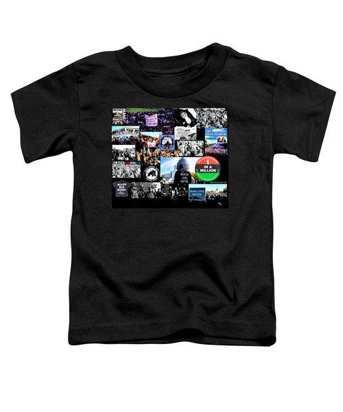 Million Man March Montage Toddler T-Shirt