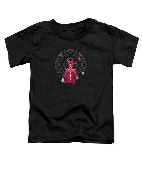 Minimal Space  Toddler T-Shirt by Mark Ashkenazi