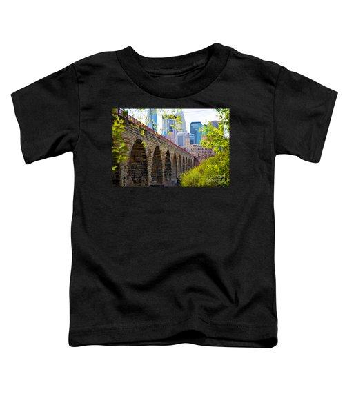 Minneapolis Stone Arch Bridge Photography Seminar Toddler T-Shirt