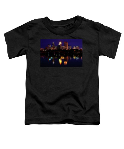 Minneapolis Twilight Toddler T-Shirt