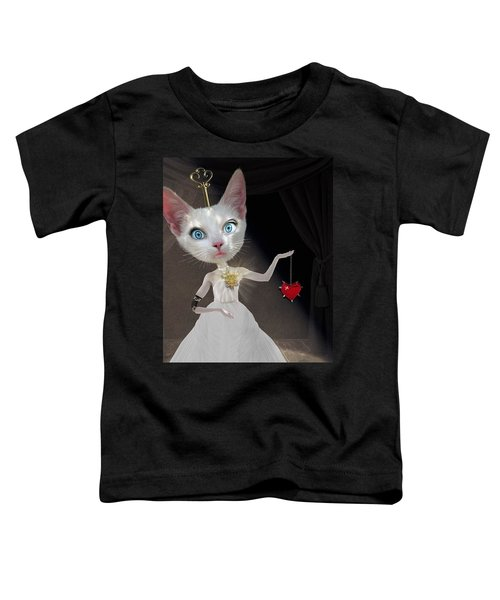 Miss Kitty Toddler T-Shirt by Juli Scalzi