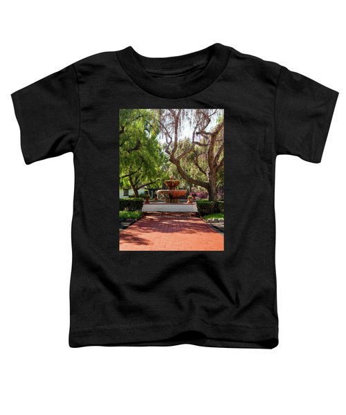 Mission Fountain Toddler T-Shirt