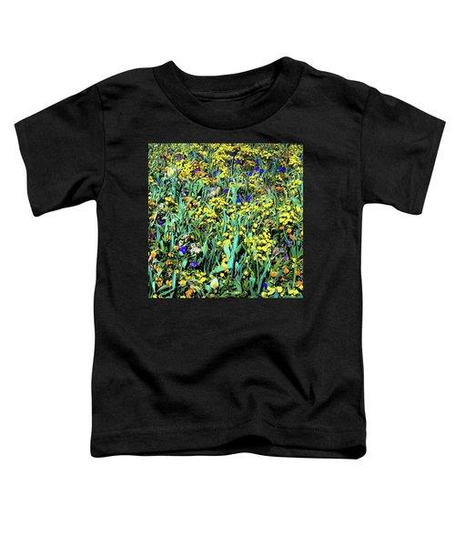Mixed Flower Garden 515 Toddler T-Shirt
