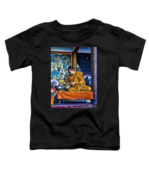 Monk At Big Buddha  Toddler T-Shirt