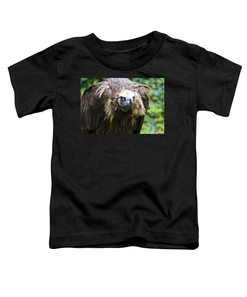 Monk Vulture 3 Toddler T-Shirt by Heiko Koehrer-Wagner