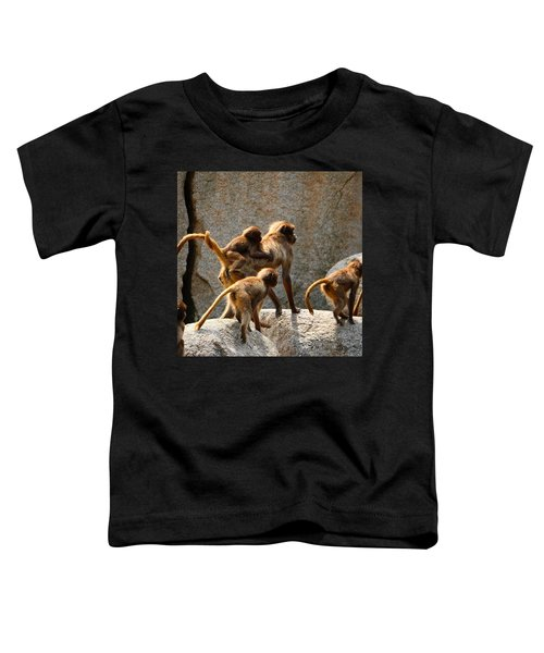 Monkey Family Toddler T-Shirt
