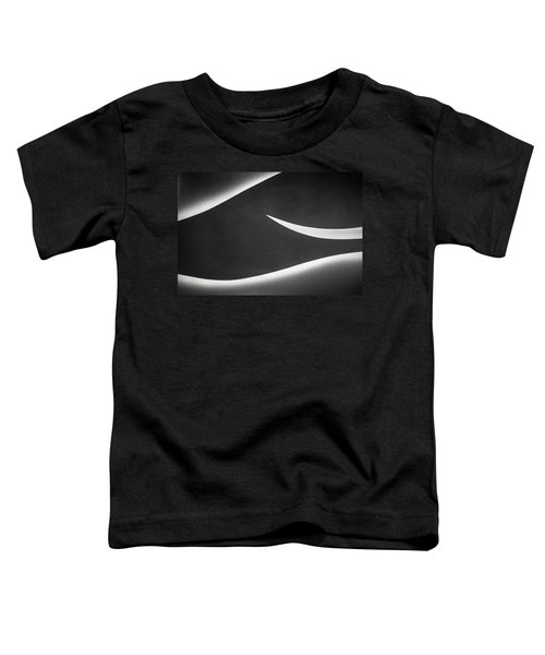 Monochrome Abstract Toddler T-Shirt