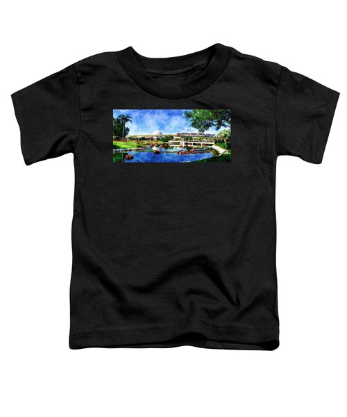 Monorail Red - Coming 'round The Bend Toddler T-Shirt