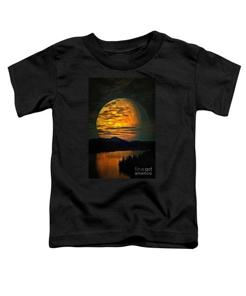 Moon In Ambiance Toddler T-Shirt
