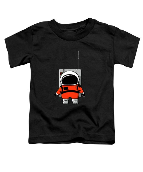 Moon Man Toddler T-Shirt by Nicholas Ely