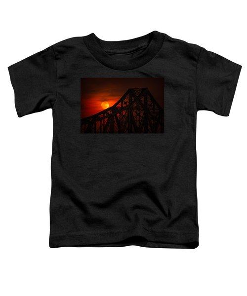 Moon Over The Bridge Toddler T-Shirt