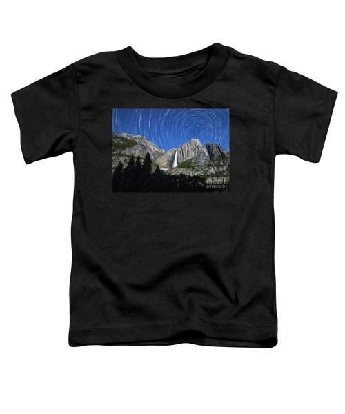 Moonbow And Startrails  Toddler T-Shirt