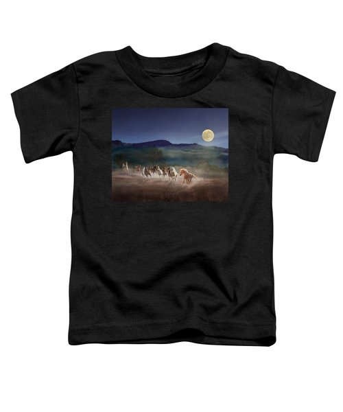 Moonlight Run Toddler T-Shirt